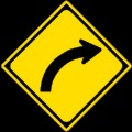 120px-Japanese_Road_sign_(Right_Curve)