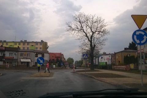 Nowe rondo na Hrubieszowskiej już działa